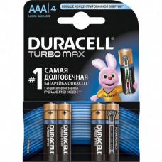 Батарейки Duracell Turbo Max AAA (4 шт)
