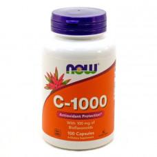 Биофлавоноиды, C-1000, Now Foods, 100 капсул